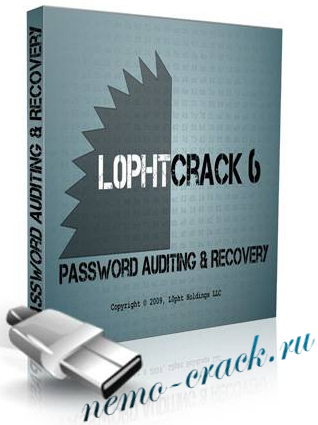 L0phtCrack 6.0.9 Administrator Edition & Portable - взлом паролей